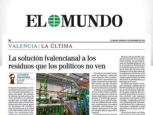 La solución (valenciana) a los residuos que los políticos no ven