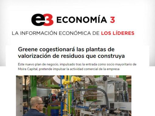 Greene cogestionará las plantas de valorización de residuos que construya