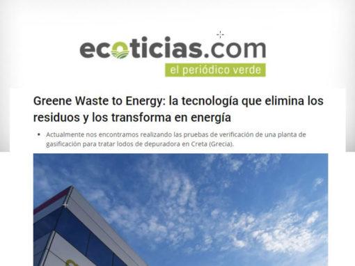 Greene Waste to Energy: la tecnología que elimina los residuos y los transforma en energía