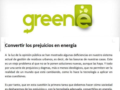 Convertir los prejuicios en energía