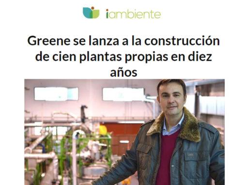Greene se lanza a la construcción de cien plantas propias en diez años