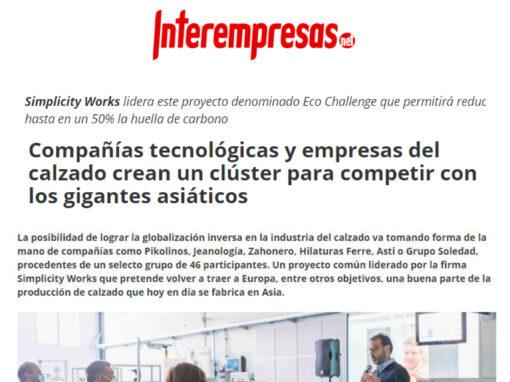 Compañías tecnológicas y empresas del calzado crean un clúster para competir con los gigantes asiáticos