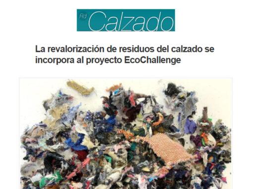 La revalorización de residuos del calzado se incorpora al proyecto EcoChallenge