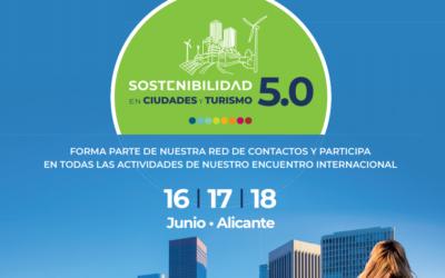 """Participamos en el encuentro """"Sostenibilidad en ciudades y turismo 5.0"""""""